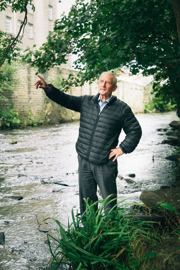 Barry Sheerman at the River Colne