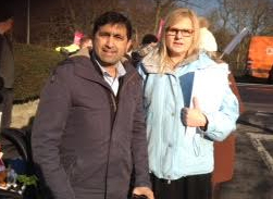 Nadeem and Karen fighting for our A&E