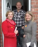Campaigning with the local Labour team