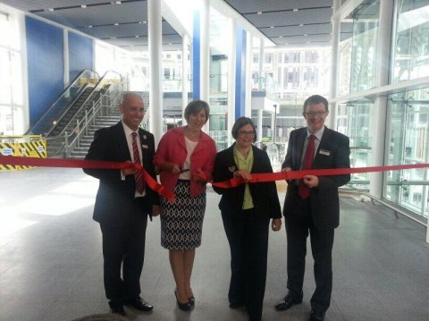 Lilian opens new southern concourse
