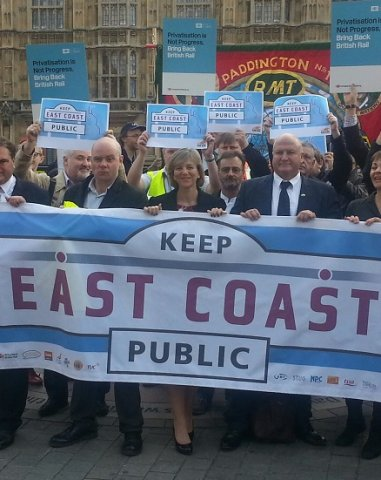 Lilian urging the Government to keep East Coast public