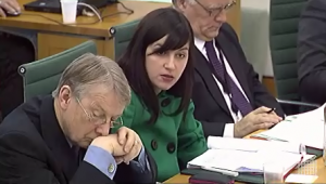 Bridget Phillipson asks a questions in the Home Affairs Committee