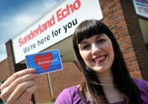 Bridget Phillipson MP supporting organ donation