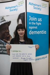 Bridget Phillipson MP at Dementia Friends event - Westminster - 2013