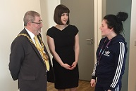 YMCA_Harvesters_project_room_(left_to_right)_Sunderland_Mayor_Alan_Emerson_Bridget_Phillipson_MP_volunteer_Caitlin_Robson_Feb_2017_web.jpg