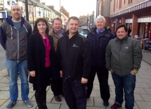Bridget meets with Houghton Traders Association in Peppercorn caffe