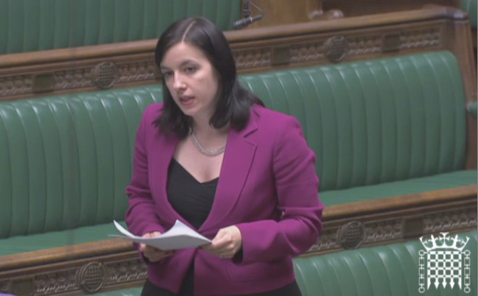 Bridget Phillipson MP speaks up for Sunderland in Parliament