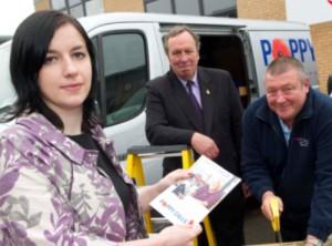 Bridget supports Royal British Legions 'Poppy Calls' scheme
