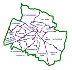 Wards in Cheltenham