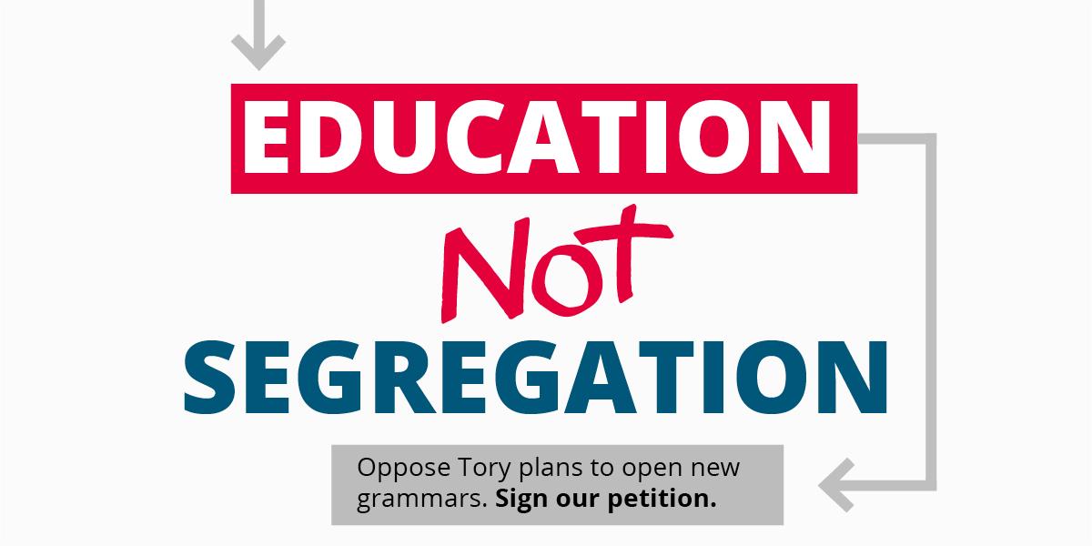 education not segregation logo