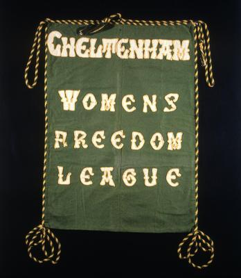 Banner - Cheltenham Womens Freedom league
