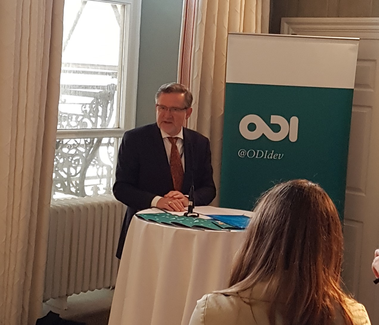 Barry at ODI event, Labour 2017