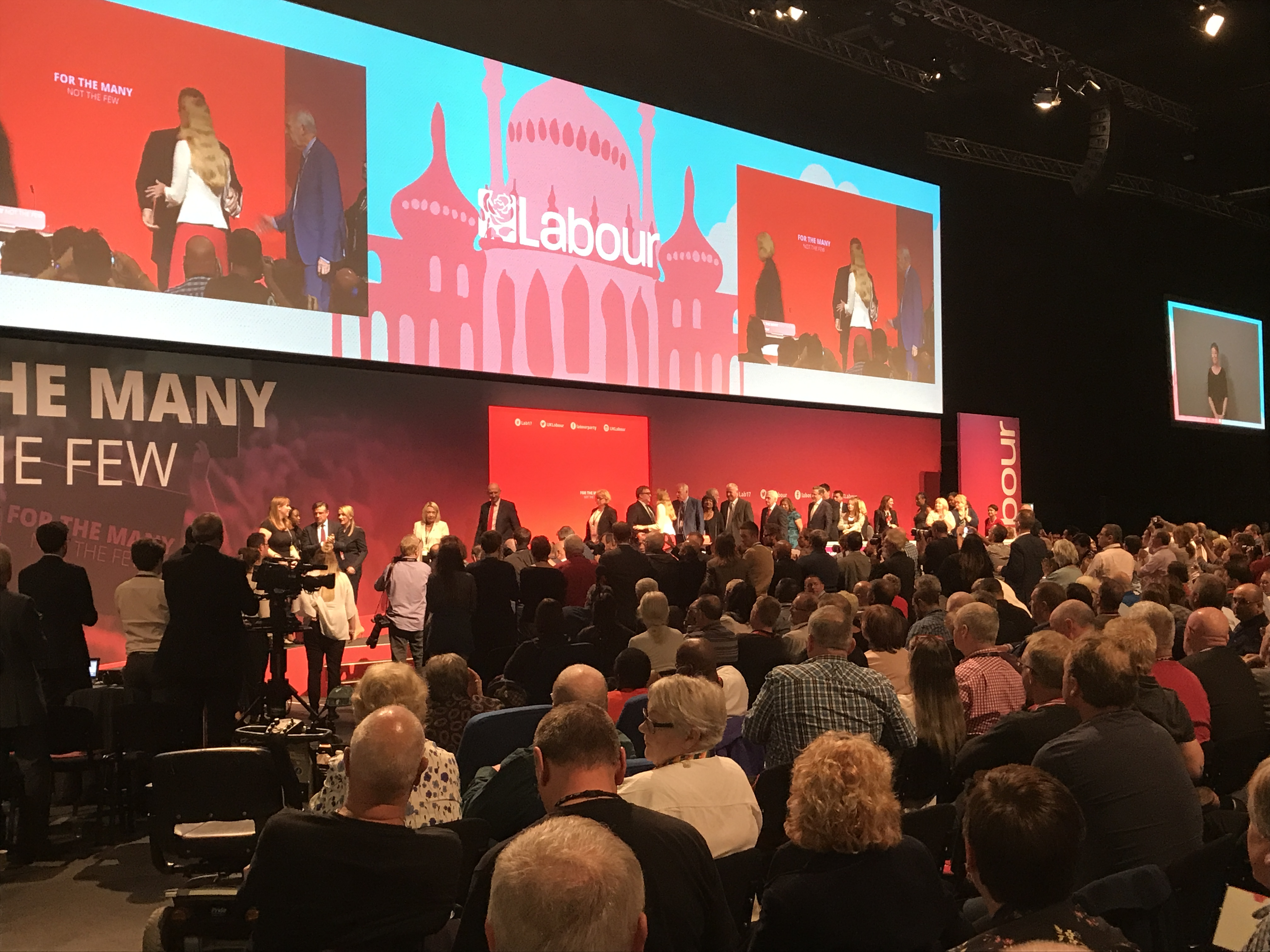 Labour Shadow Cabinet at #Lab17 Brighton