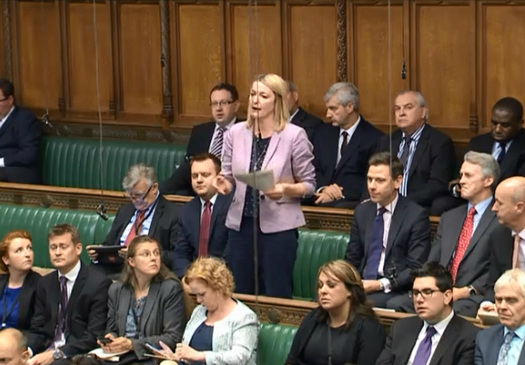 Jessica in Parliament