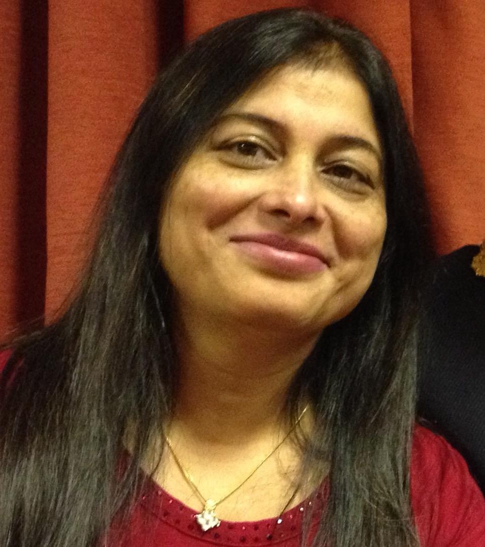 Manisha Kaushik, councillor for Crosland Moor and Netherton Ward