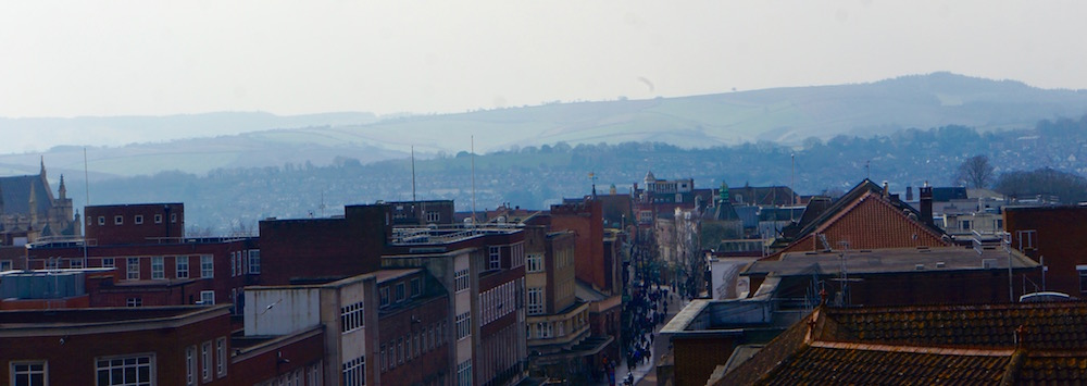 Image of Exeter Looking West