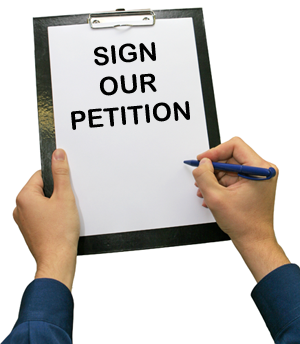 Sign our Petition!!!