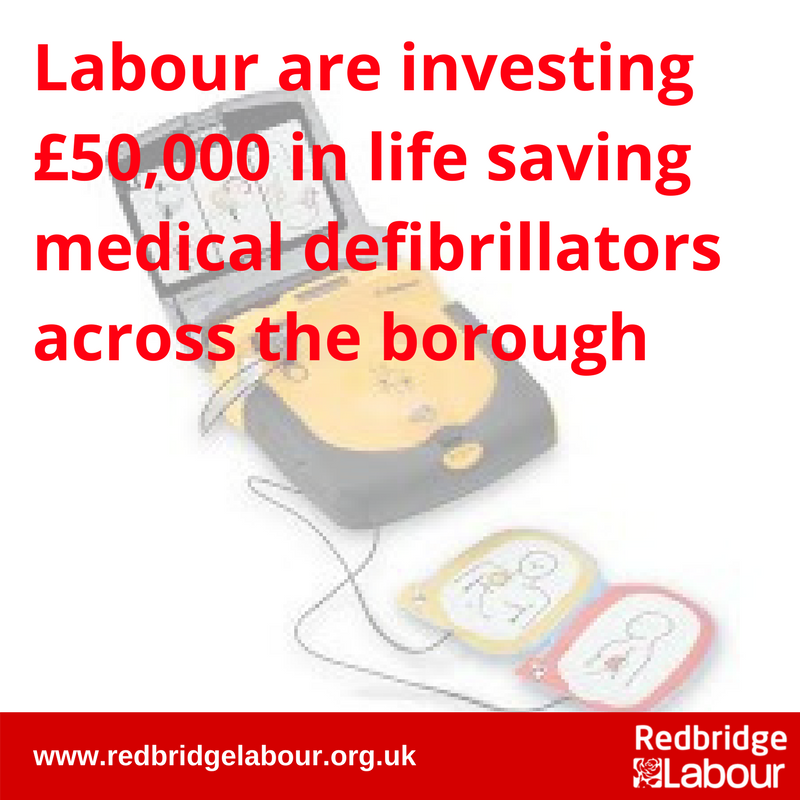 Defibrillators Across the Borough