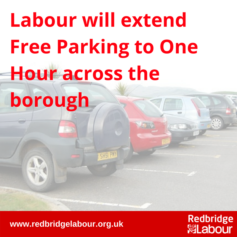 One Hour Free Parking