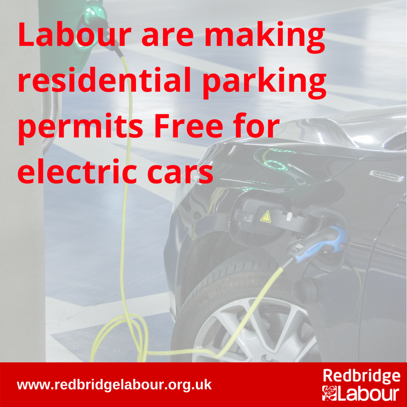 Free Residential Parking Permits for Electric Cars