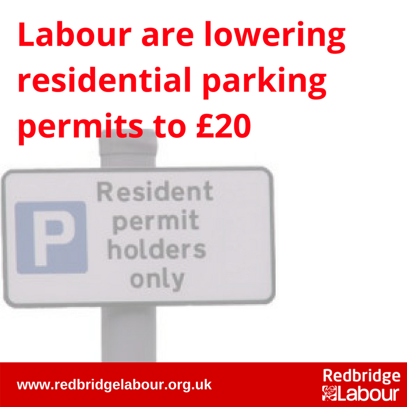 Reduced Residential Resident Permits
