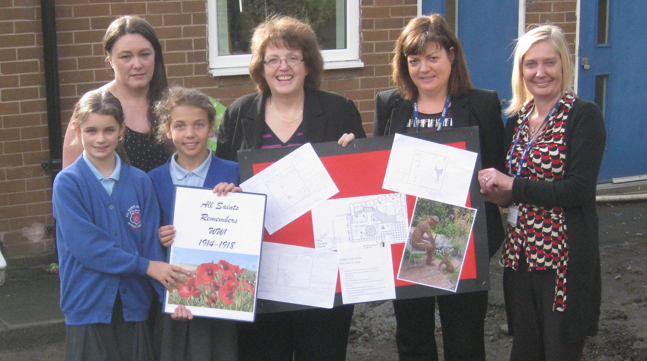 Rosie_Cooper_MP_with_Mrs_Jayne_Hutchings__Mrs_Janet_Dunn__Mrs_Jane_Bimson_and_Yr_6_pupils_Grace_and_Matilda.jpg