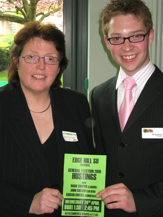 Edge Hill Debate