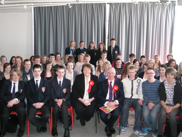 Jack Straw at Ormskirk School