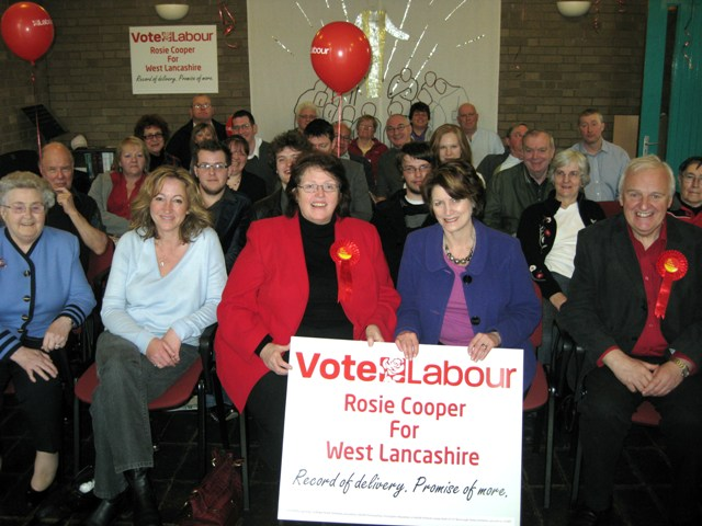 Rosie Cooper Campaign Launch