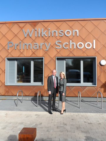 Visit to Wilkinson Primary school
