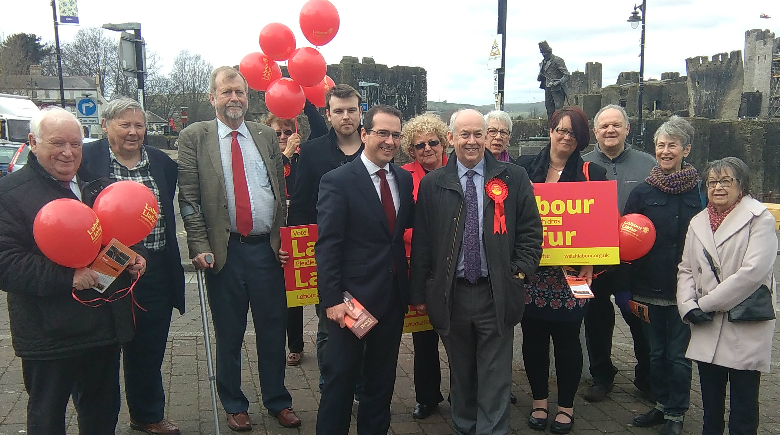 Caerphilly Labour Party election campaign launch