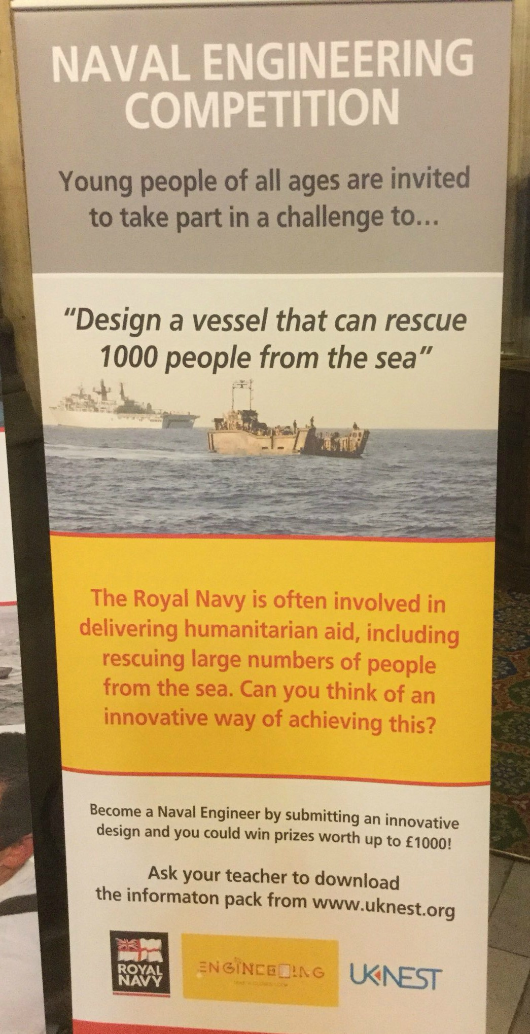 Naval Engineering competition