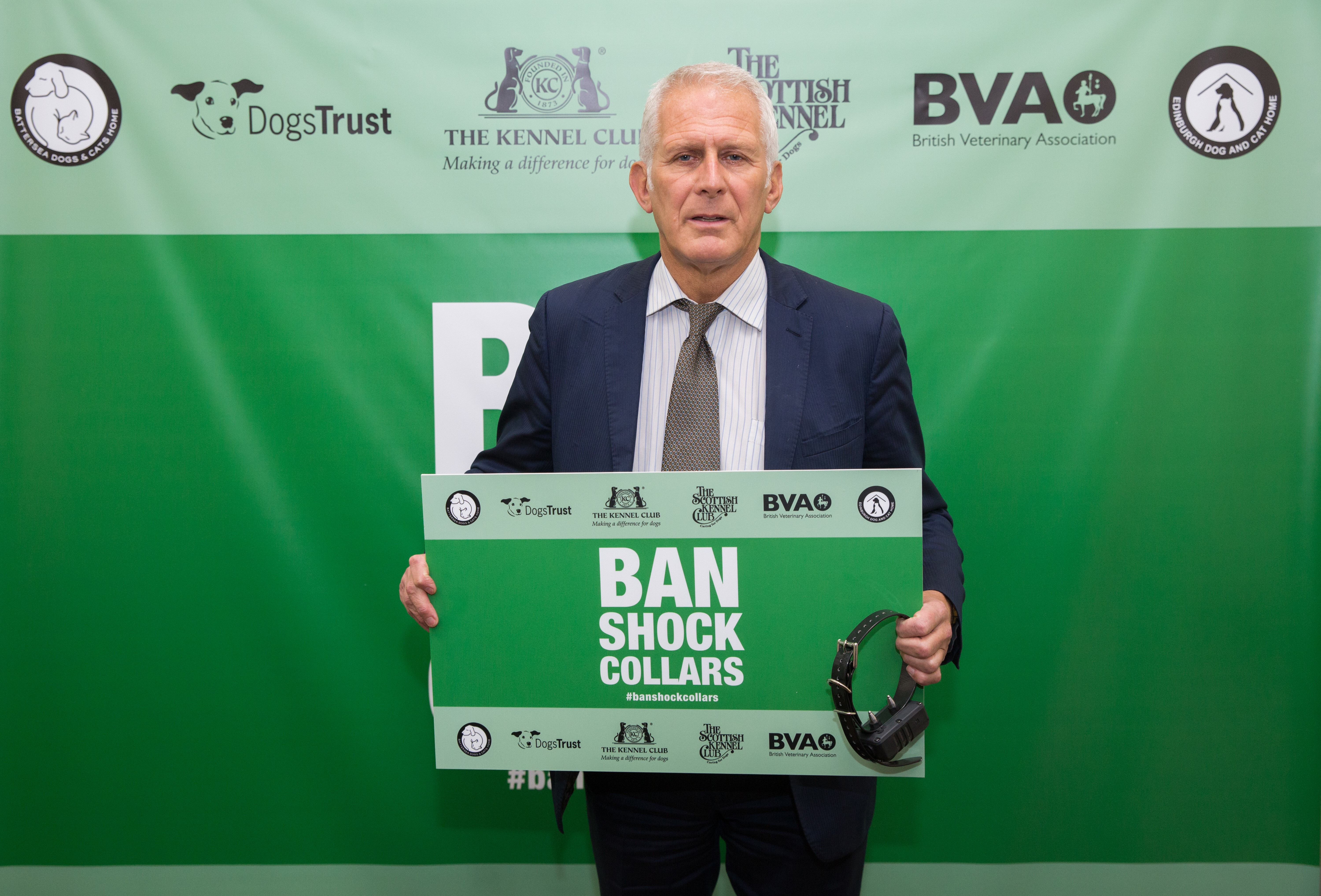 Gordon has joined animal welfare and veterinary organisations in calling for a ban on electric shock collars for dogs.        He has joined forces with the Kennel Club, Battersea Dogs & Cats Home, the British Veterinary Association and the Dogs Trust in calling in Parliament for a ban on the use...