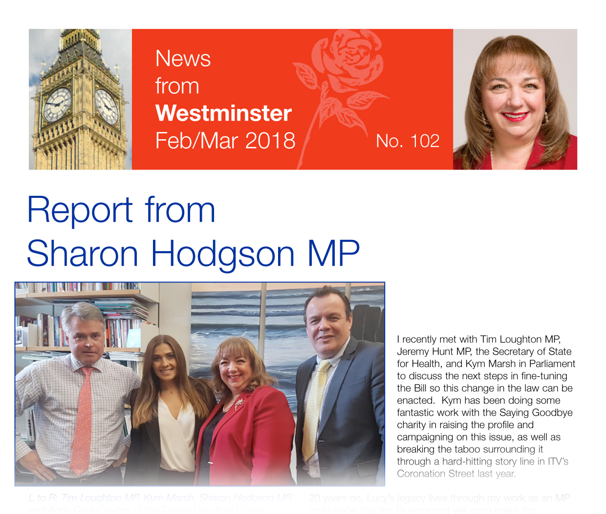 News from Westminster cover