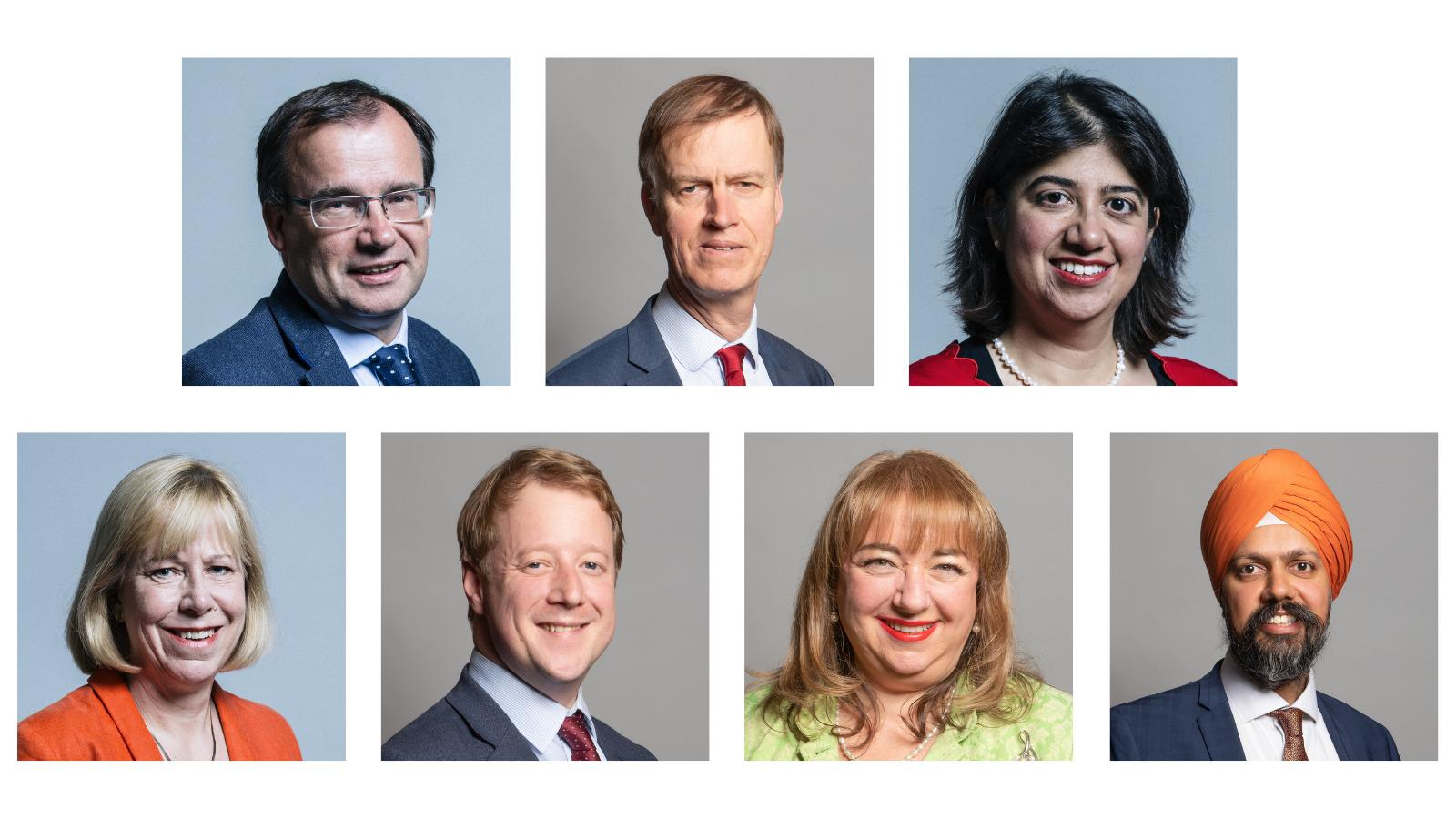 Picture of Cross-Party MPs involved in the meeting