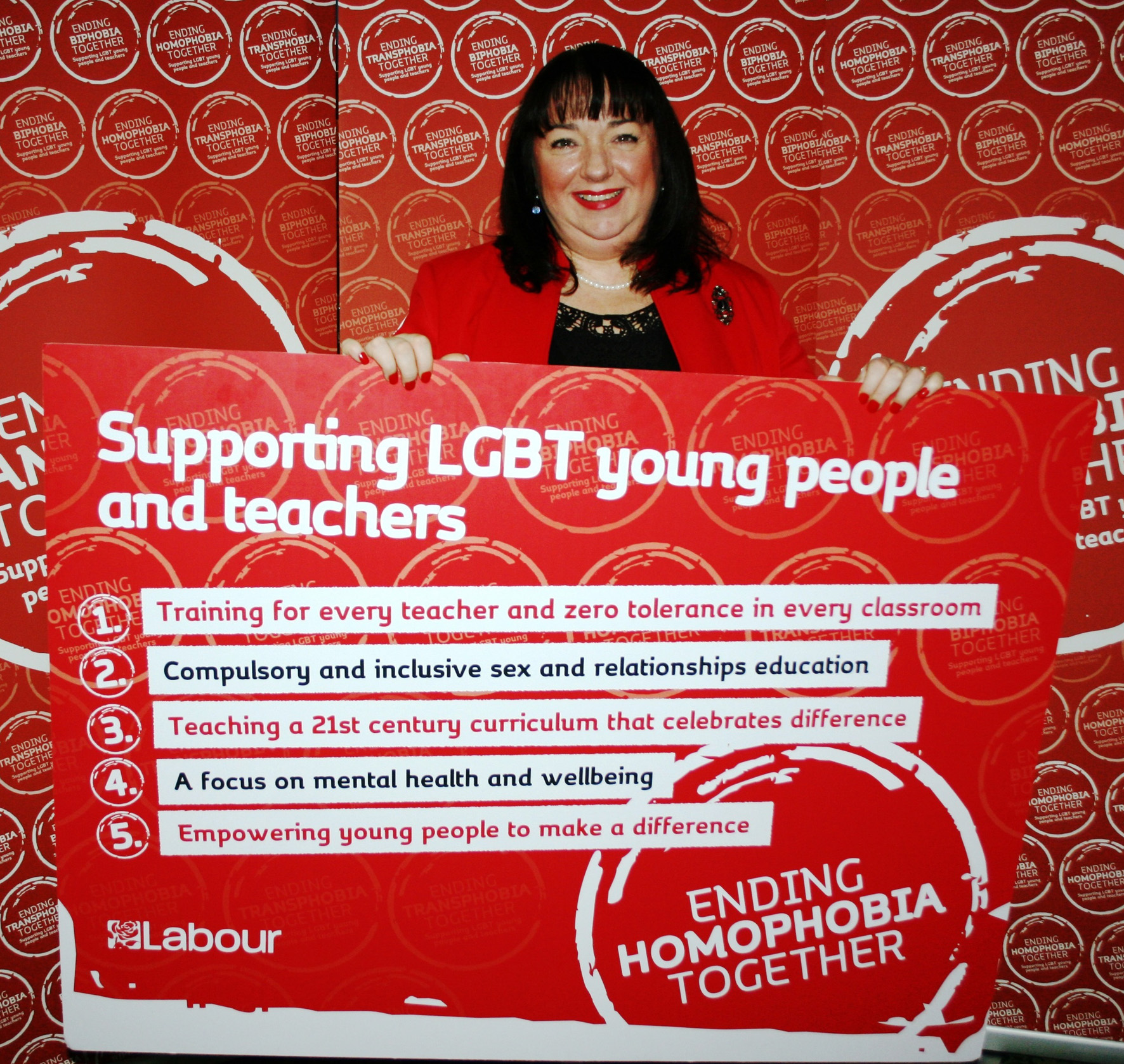 Labours pledge to eradicate homophobic bullying in the classroom
