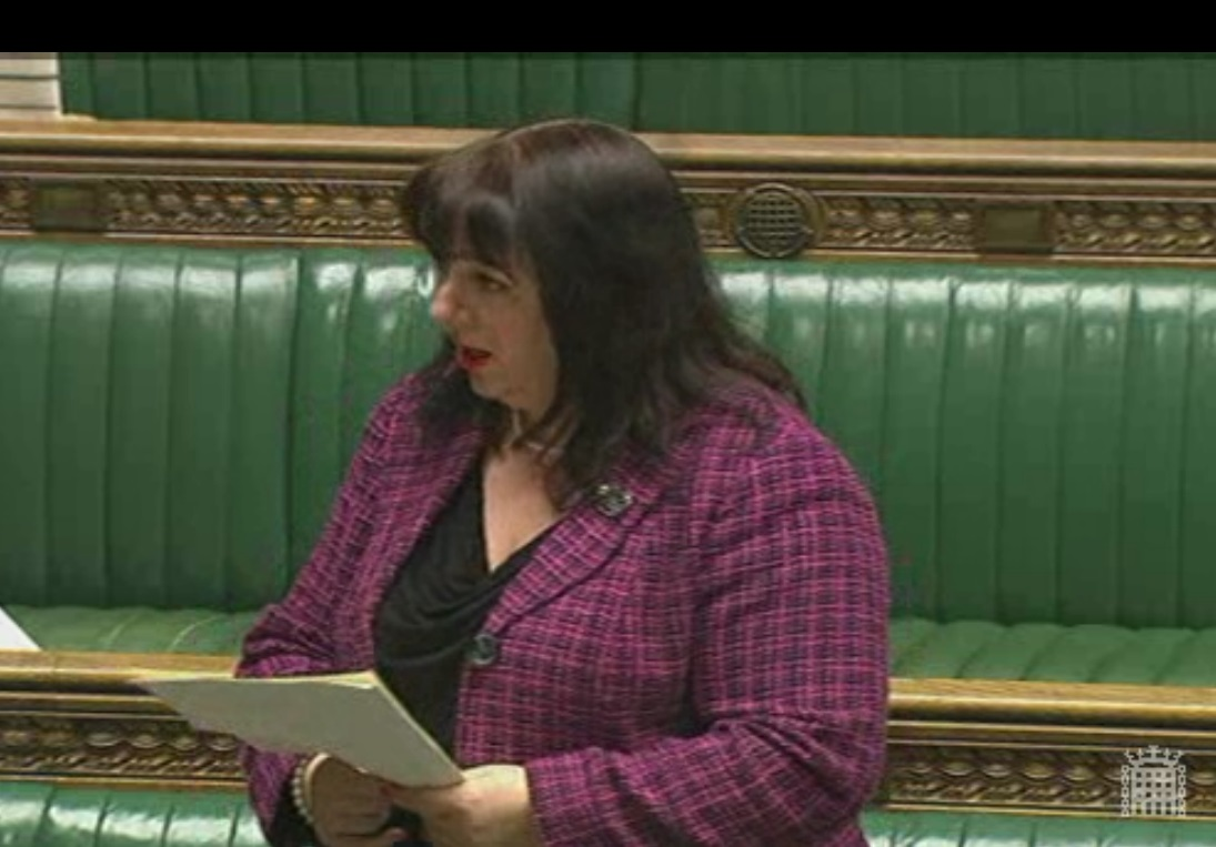 Sharon Hodgson hands in Metro extension petition to Parliament