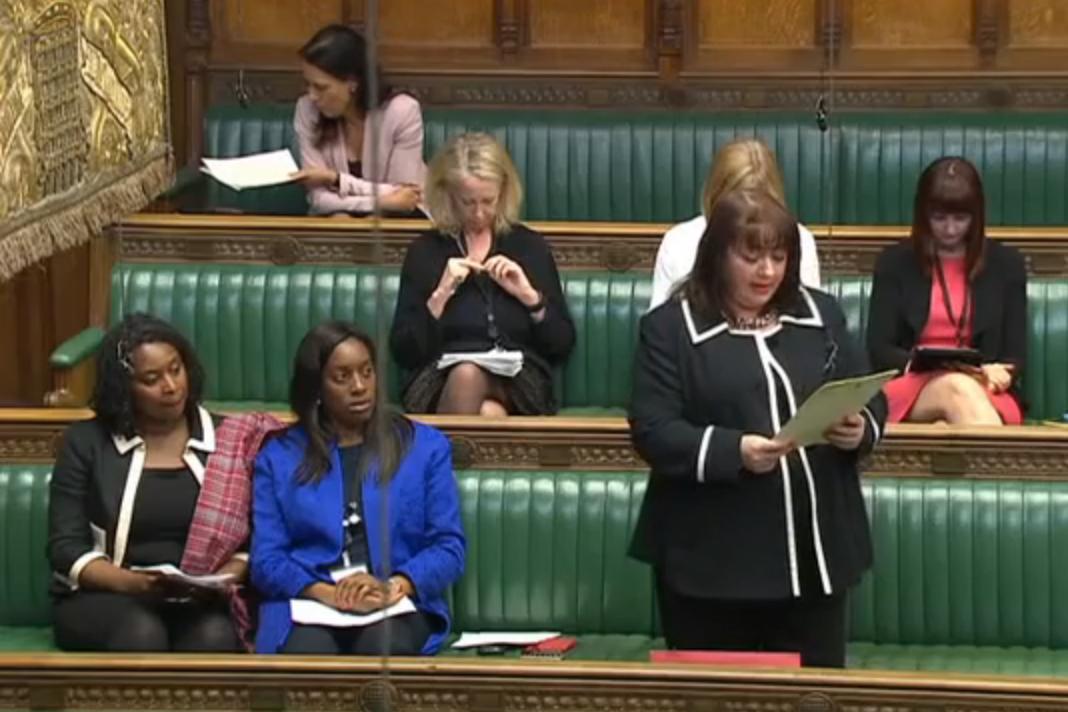 Sharon Hodgson Health and Social Care debate 2 June 2015