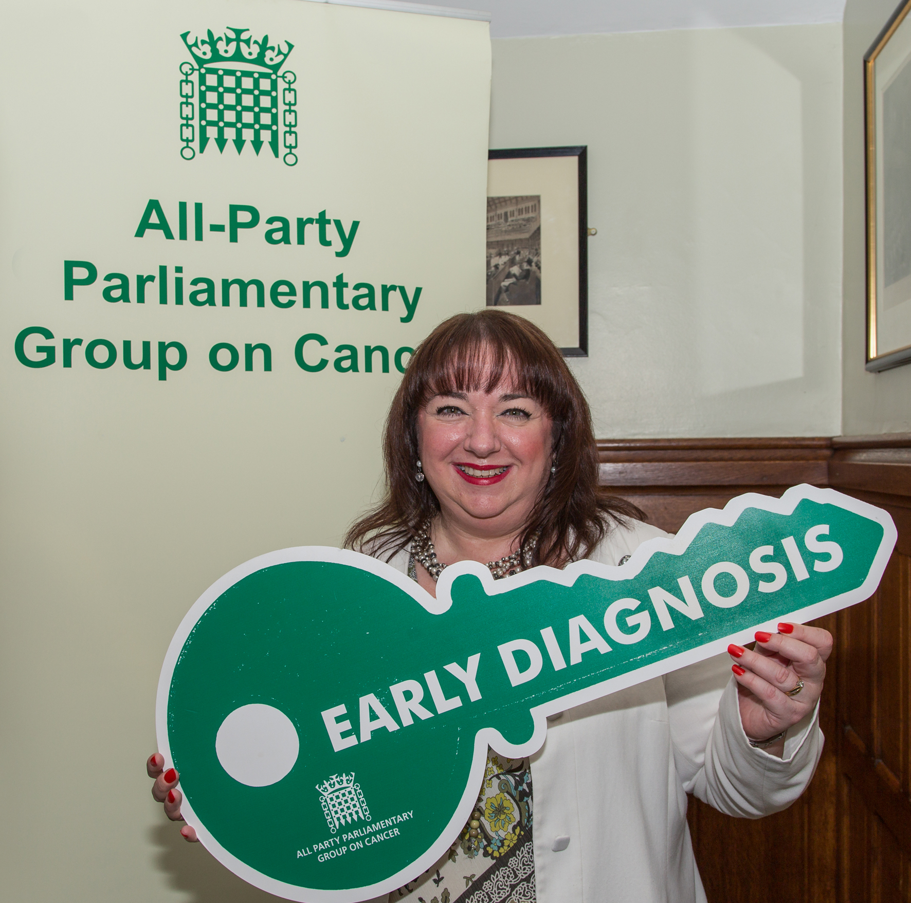 Sharon Hodgson MP has shown her support for improving UK one-year survival rates