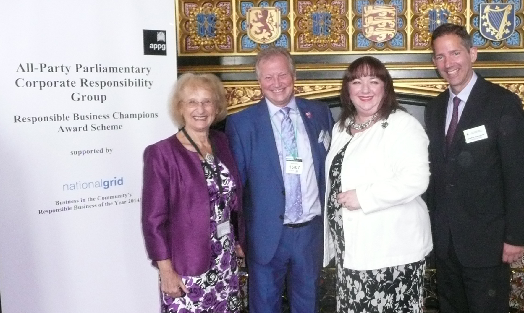 Sharon Hodgson MP nominates Gentoo for National Responsible Business Champion Award
