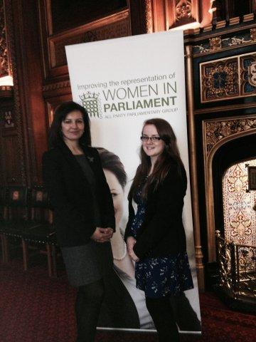 Katie in Parliament