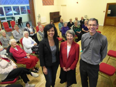 caroline Sheila Barnes and Rev Ian Smith