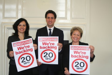 We are backing 20mph