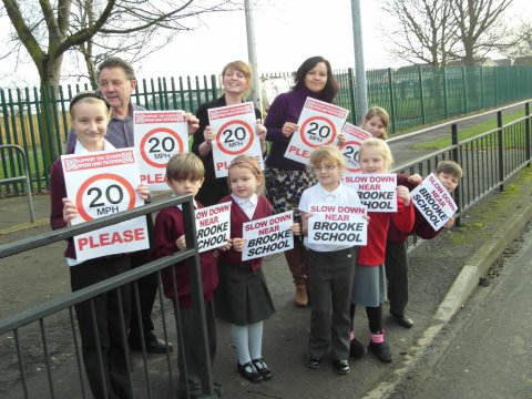 Slow Down! brooke Primary school