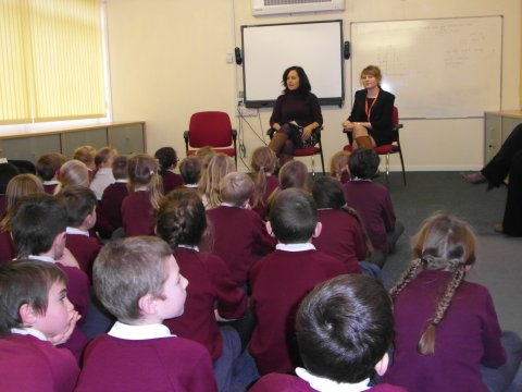 Brooke Pupils listening