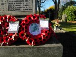 Caroline Wreath on the Tickhill war memorial
