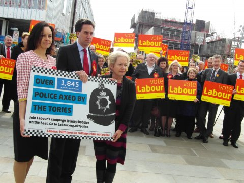 Labour Launch Ed Rosie Caroline