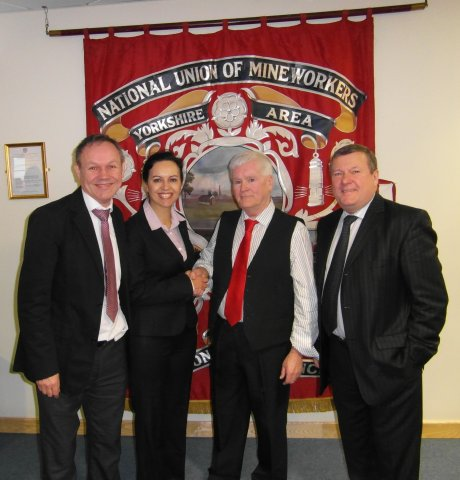 NUM Banner with Frank Arrowsmith