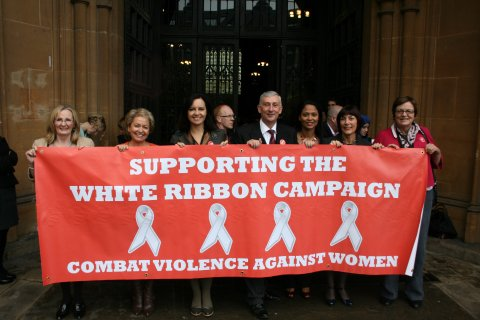Caroline Roise White Ribbon Campaign