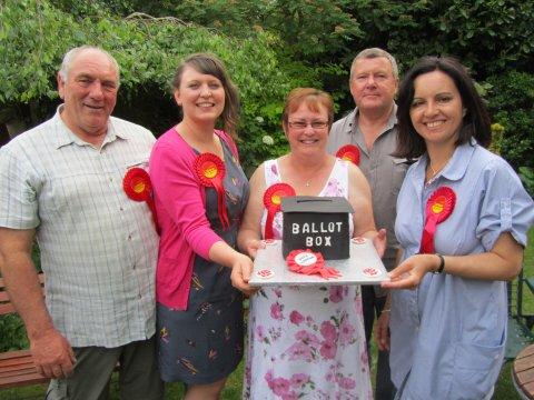 Labour election victors